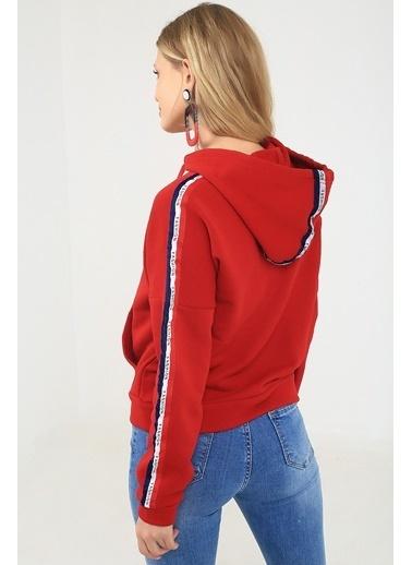 Emjey Sweatshirt Kırmızı